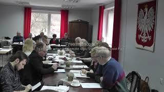 XL Sesja Rady Miasta i Gminy Wleń odbyła się w Ośrodku Kultury, Sportu i Turystyki we Wleniu dnia 25