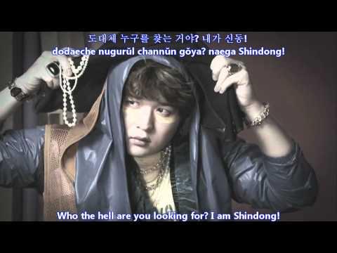 Super Junior - SUPERMAN MV [english subs + romanization + hangul]