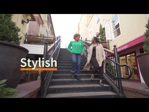 Introducing Pandere, revolutionary comfort shoes for the 43 million people in the U.S. who can't fit into off-the-rack shoes. Pandere shoes expand up to three widths, accommodating women with swollen feet due to a variety of health conditions including edema, diabetes, pregnancy, bunions and arthritis. Pandere is the world's first medical-quality comfort shoe that offers three-dimensional expansion and style. Because everyone deserves hip shoes that fit.