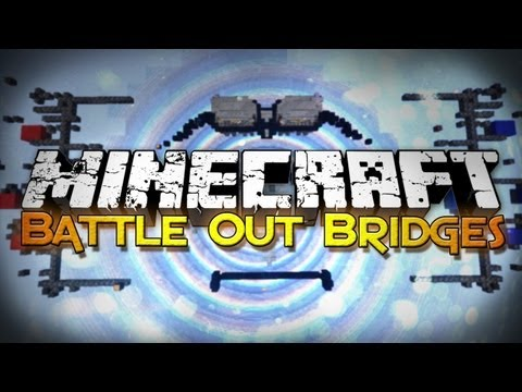 Minecraft: Bridge Out Battle - Falling Blocks!? (Mini-Game) - Smashpipe Games