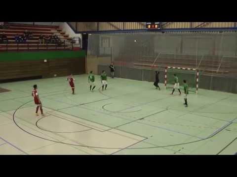 Hamburger SV Futsal - FUTebol de SALao Bremen (Finale, Norddeutscher Futsal-Pokal 2015) - Spielszenen | ELBKICK.TV