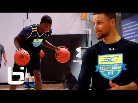 Jalek Felton Learns From Stephen Curry On His Road to UA Elite 24!