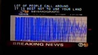 Breaking News: May 17, 2009 Lennox Earthquake (Los Angeles)