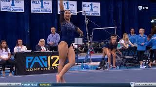 Kyla Ross (UCLA) - Floor Exercise (9.900) - Ohio State at UCLA 2018