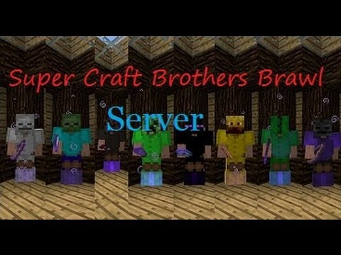 super craft bros server craft brothers brawl server pvp part 3 feat ssundee 5525
