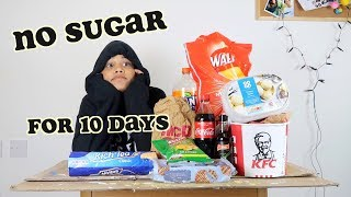 i quit sugar for 10 days - part 1 | clickfortaz