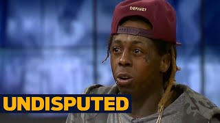 Lil Wayne's opinion on Kevin Durant and Dwyane Wade changing teams | UNDISPUTED