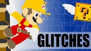 Glitches, Tricks and Broken Stuff in Super Mario Maker.