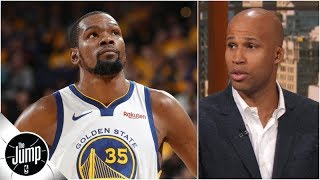 Kevin Durant officially out for Warriors vs. Rockets series: Can Golden State still win? | The Jump