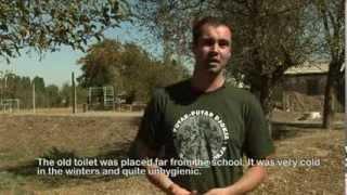 Urine gescheiden toiletten op scholen in de noordelijke regio van Tajikistanan door WECF en partners