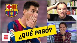 Leo Messi se va del Barcelona. PESADILLA Culé. ¿QUÉ PASÓ? ¿Le mintieron a La Pulga?   Exclusivos