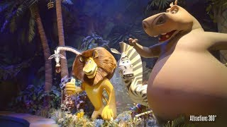 [4K] Madagascar Ride - A Crate Adventure  - Universal Studios Singapore