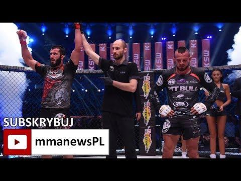KSW 39: Borys Mańkowski skrytykował gwiżdżących na Mameda Khalidova (+video)