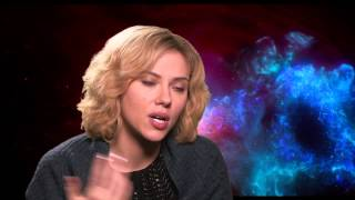 "Scarlett Johansson ""Lucy"" Behind the Scenes Movie Interview"