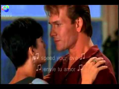 Ghost La sombra del Amor .. Unchained Melody ... (español subtitulo)