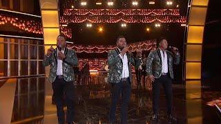 Banda MS cantan sus éxitos en Premios De La Radio 2019