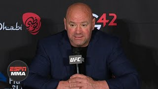 Dana White: Khabib Nurmagomedov vs. Georges St-Pierre is off the table | ESPN MMA