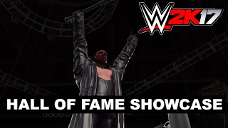The Hall of Fame Showcase comes to WWE 2K17