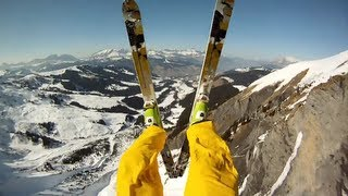 Ski avalanche