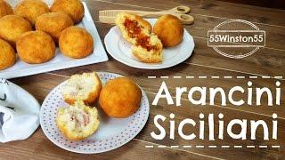 Arancini Siciliani - Ricetta Originale ! Arancini alla Carne & Arancini al Burro