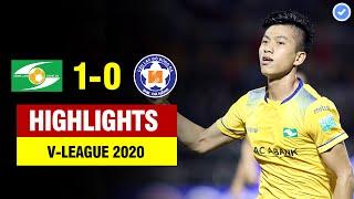 Highlights SLNA 1-0 Đà Nẵng | Phan Văn Đức tỏa sáng dứt điểm như CR7 định đoạt trận đấu