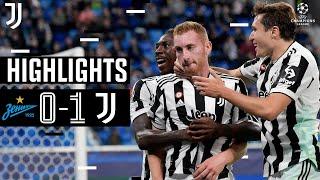 Zenit St. Petersburg 0-1 Juventus | Late Kulusevski Header Seals Win! | Champions League Highlights