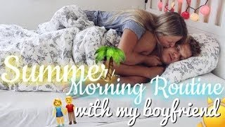 Summer☀️🌴 Morning Routine with my Boyfriend💗 | Sophie Sof
