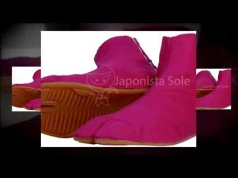 Japonista Japanese Kawaii Pink Jika Tabi