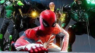 Marvel SPIDER-MAN PS4 - Gameplay Demo Electro/Rhino/Scorpion/Vulture (E3 2018)
