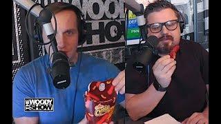 Burger King Flamin' Hot Mac n' Cheetos Taste Test