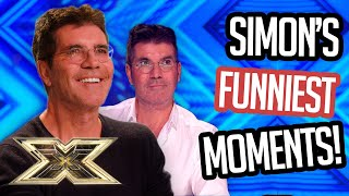 SIMON COWELL'S FUNNIEST AUDITION MOMENTS! | The X Factor UK