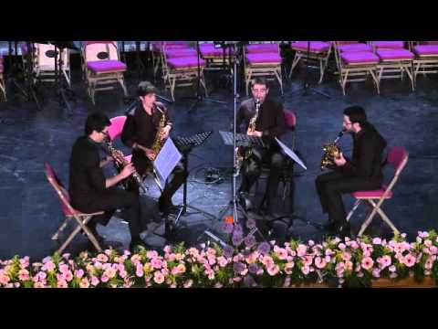 Cuarteto de Saxofones Êgaré Tango Virtuoso de Thierry Escaich