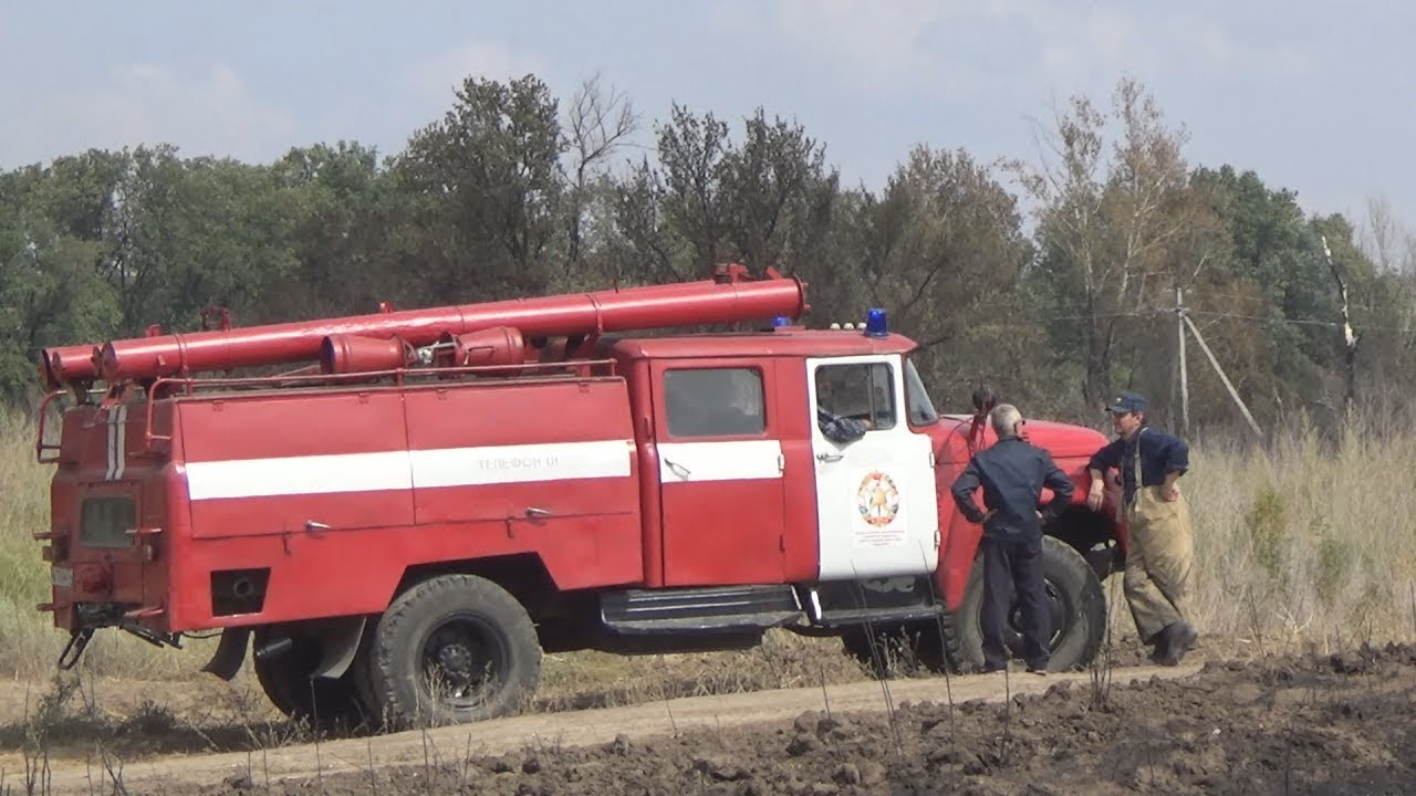 В Волгоградской области спасен от пожара хутор Вязовка