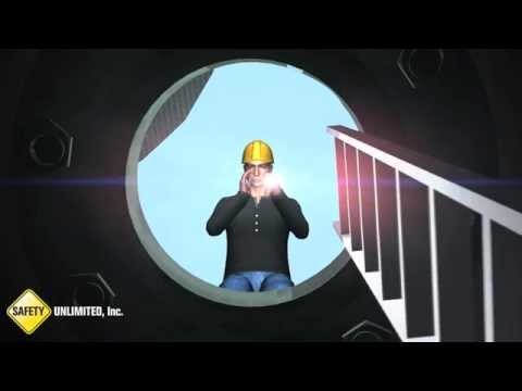 Confined Space Animation by Safety Unlimited, Inc.