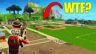 Destroying EVERY Building In Pleasant Park! [Fortnite]