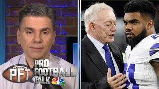 Don't expect Ezekiel Elliott to be ready Week 1 for Cowboys | Pro Football Talk | NBC Sports