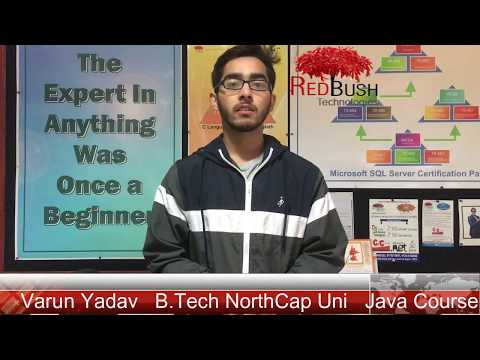 Java Programming Course Review by Varun | Student of NorthCap University