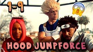Naruto vs Goku ( Jumpforce ALL Parts 1-9 ) Hood Anime