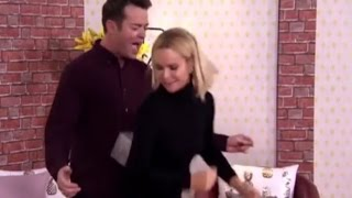 Amanda Holden Plays with Stephen Mulhern's Balls on Britain's Got More Talent
