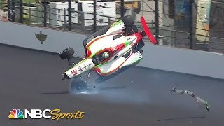 Indianapolis 500: Patricio O'Ward crashes in practice | Motorsports on NBC - YouTube