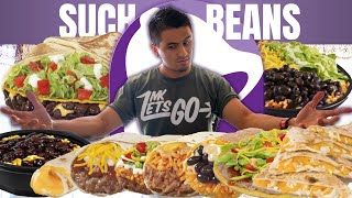Eating Everything Vegetarian At Taco Bell | Taco Bell Mukbang  Review