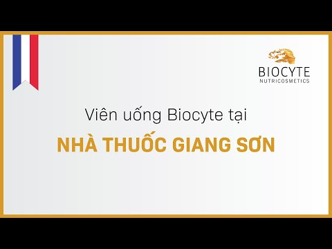 Viên uống Biocyte tại Nhà thuốc Giang Sơn