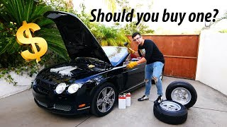 Maintaining A Used Bentley GT Costs Less Than You Think...