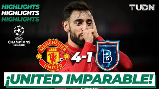 Highlights | Manchester United 4-1 Istanbul BB | Champions League 2020/21-J4 | TUDN
