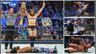 WWE Smackdown LIVE 3/19/19 REVIEW || Kofi Kingston Runs The Gauntlet || Heartbreak In Paradise