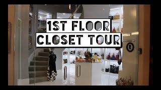 1st Floor Closet Tour