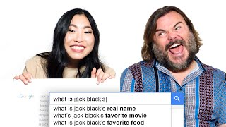 Jack Black & Awkwafina Answer the Web's Most Searched Questions | WIRED
