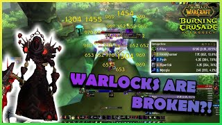 WARLOCKS ARE BROKEN?! | Daily Classic WoW Highlights #101 |