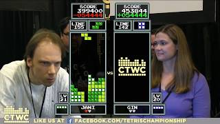 Top 32 - 2017 Classic Tetris World Championship Episode 1