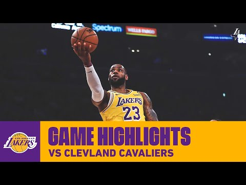 HIGHLIGHTS | LeBron James (31 pts, 8 ast, 2 reb) vs. Cleveland Cavaliers